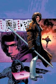 Ilustración de marvel comics - Gambit
