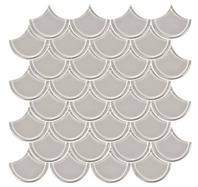 Scallop Mosaic Tile - The Home Depot Canada - Harlow and Thistle