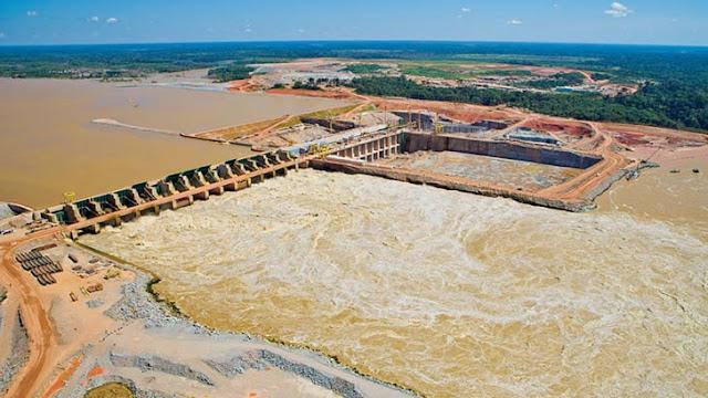 Hidrelétrica de Santo Antônio Rio Madeira, Rondônia