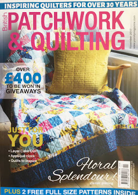 British Patchwork and Quilting Magazine, November 2017