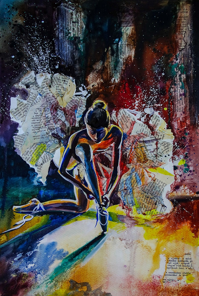 11-Wings-Vivien-Szaniszlo-Movement-Captured-with-the-Dancing-Ballerina-Paintings-www-designstack-co