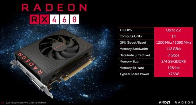 оптимальный процессор RX 460
