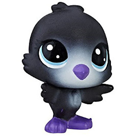 Littlest Pet Shop Series 1 Special Collection Ace Blackbird (#1-9) Pet