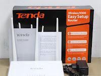 Review Router WiFi Tenda F3. Tahan di Hajar 30 Perangkat!