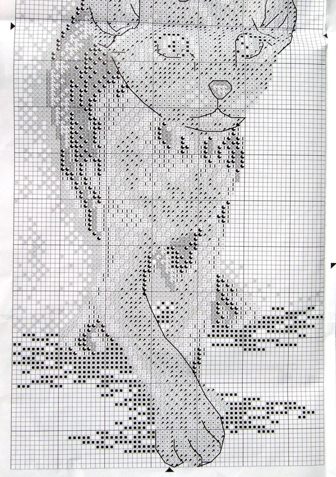 Схема для вышивки сфинкс