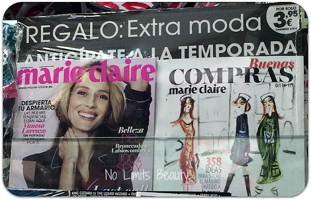 Regalos revistas agosto 2016: Marie Claire