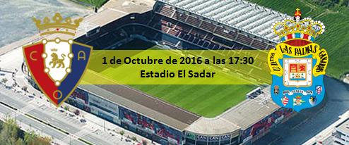 Previa CA Osasuna - UD Las Palmas 1 Octubre 17:30