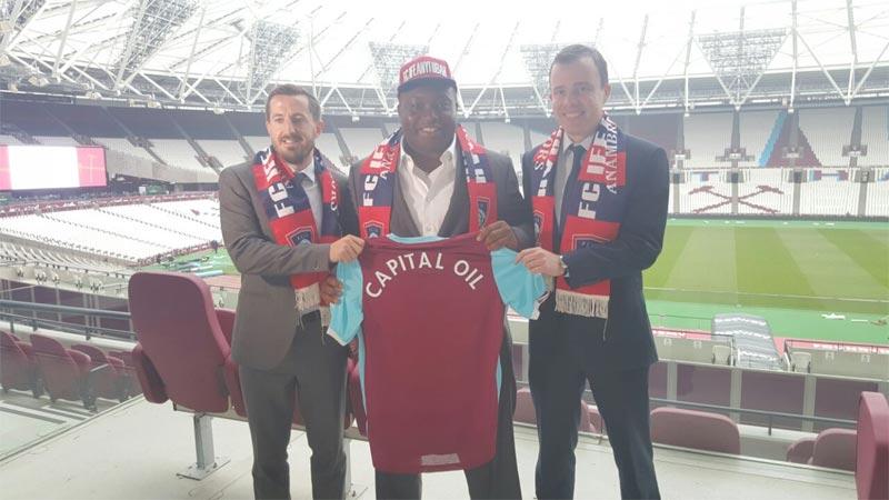 Ifeanyi Ubah FC signs deal with Premier League side West Ham