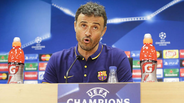 Rueda de prensa de Luis Enrique previa al Arsenal-Barça