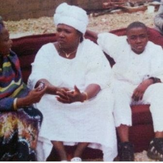 throwback photo of iceprince zamani with his mother