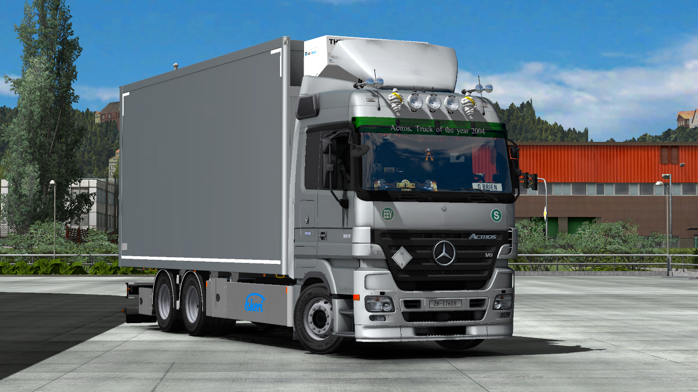 Mercedes actros mp2 with tandem addon 1 32