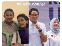 10 years Challenge apa hadiahnya?