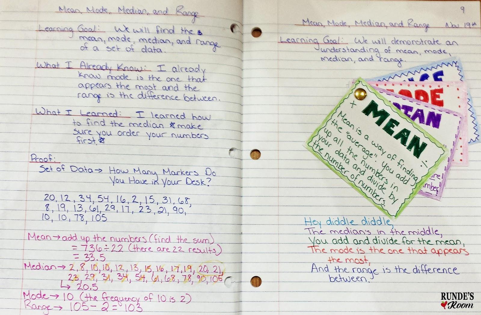 5 Activities to Teach Mean, Mode, Median | RUNDE'S ROOM