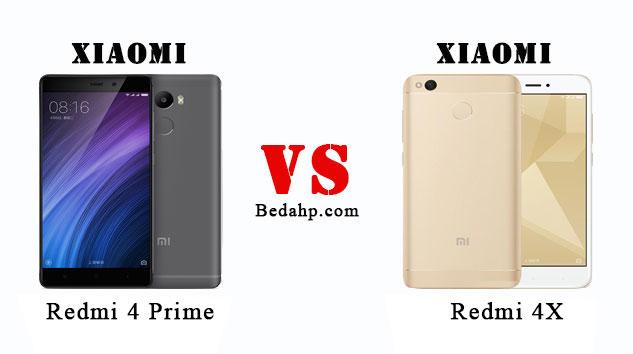 Perbedaan Xiaomi Redmi 4X VS Redmi 4 Prime