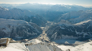 The alpine landscapes around Courmayeur offer extraordinarily spectacular views