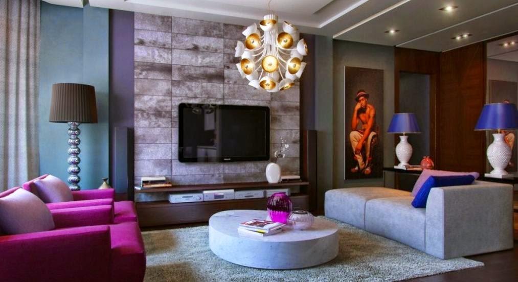 Lampu Hias Ruang Tamu Desain Rumah Minimalis Gambar Furniture