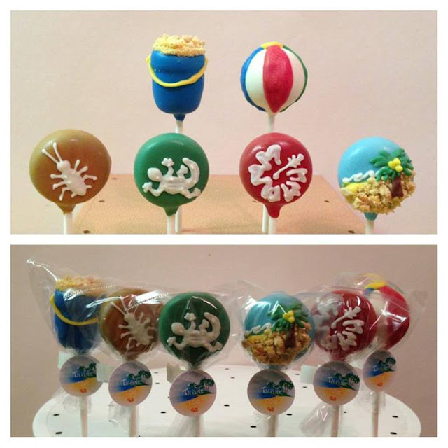 Summer Vacation Pops by VyPassetti Cake Pops