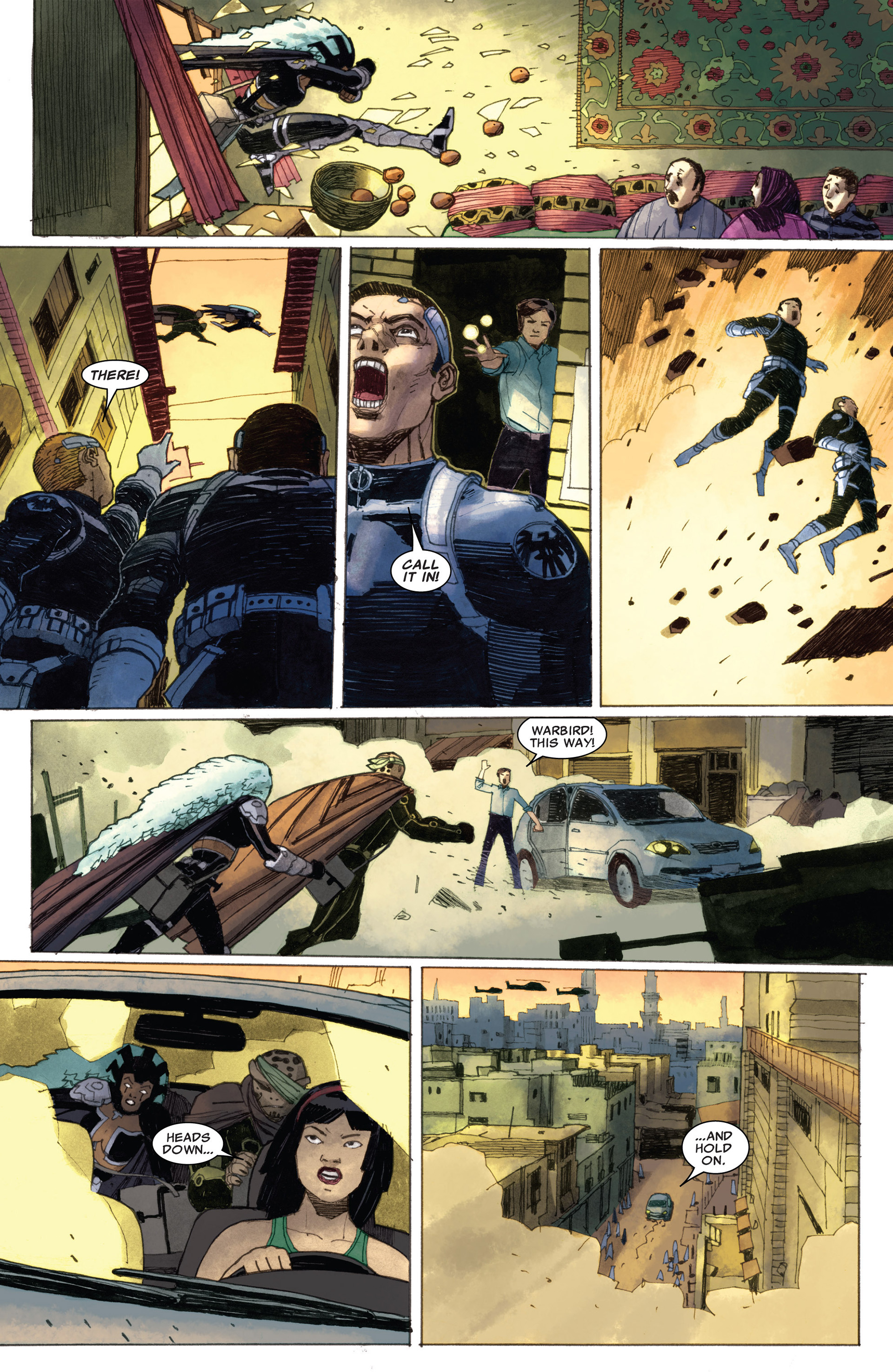Read online Astonishing X-Men (2004) comic -  Issue #58 - 11