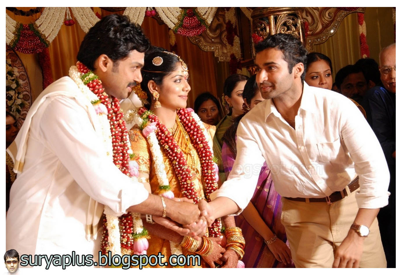 Large Hd Photo Of Tamil Cine Actor Karthi Wedding And Marriage Reception Click To Enlarge