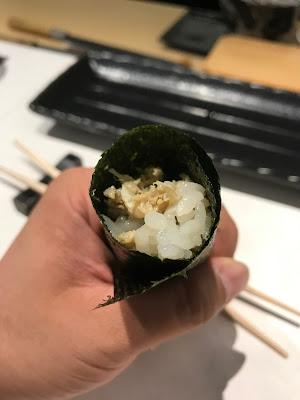 Ryo Sushi, kani temaki
