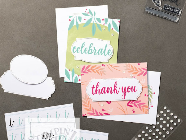 Stampin' Up! Watch It Wednesday - Calligraphy Essentials by Stampin' Up!