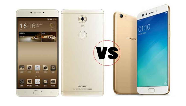 Gionee M6S Plus Vs OPPO F3 Plus