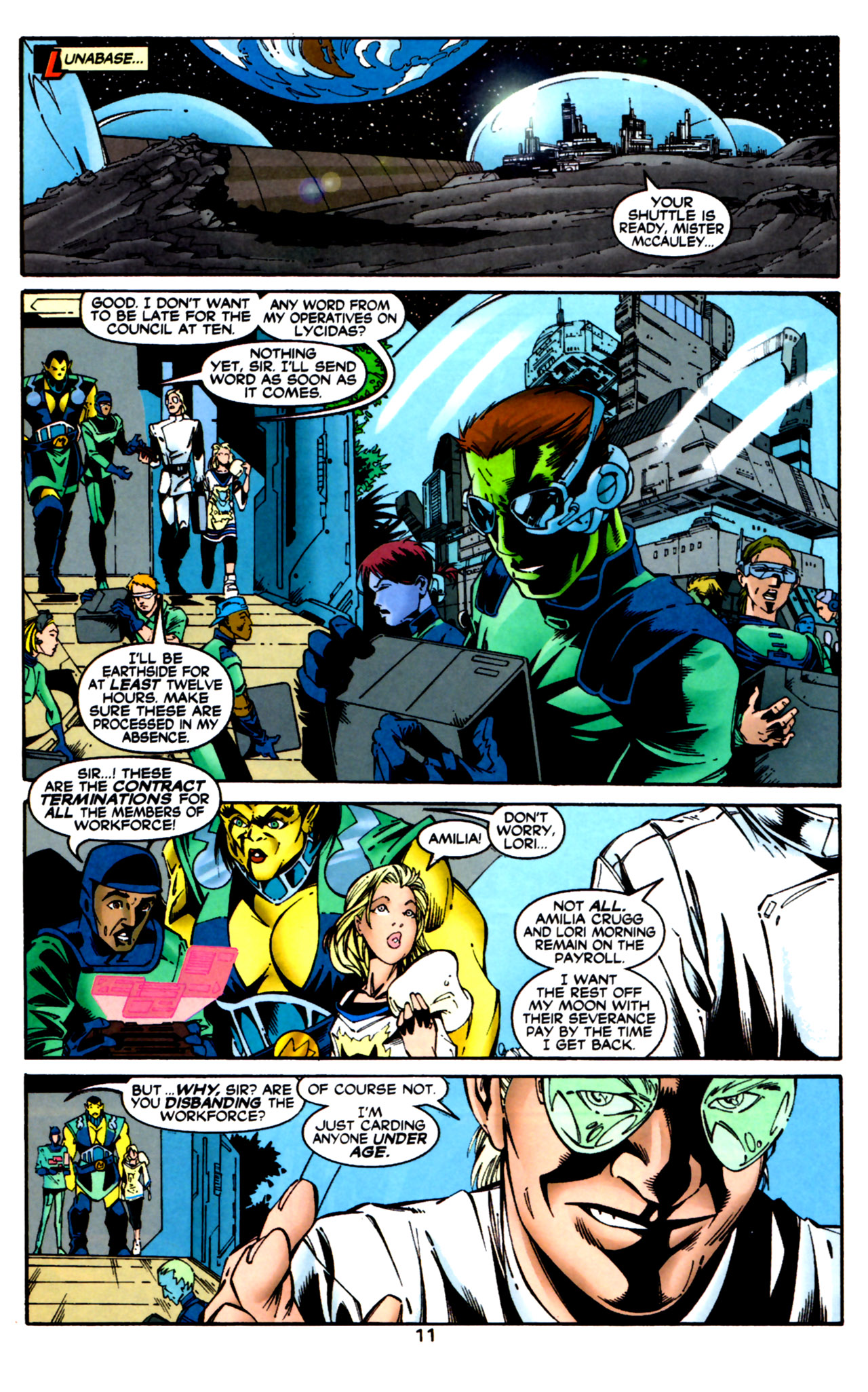 Legion of Super-Heroes (1989) 124 Page 11