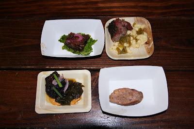 Meats from 2016 Houston BBQ Throwdown