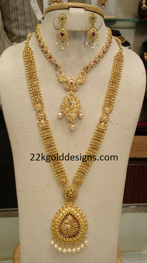 CZS Necklace and CZS Long Chain Set