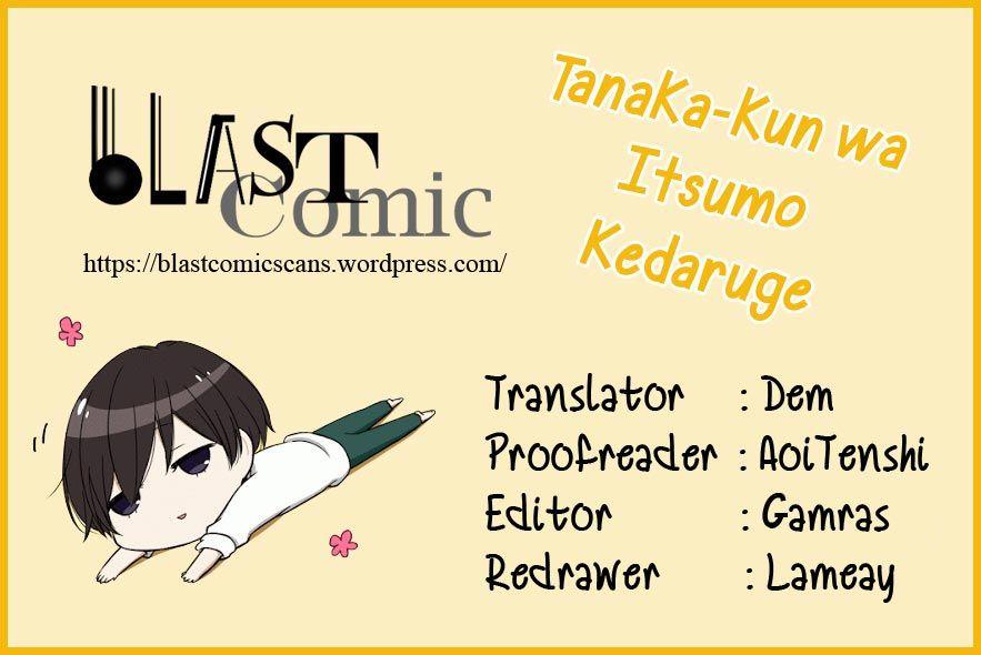 Tanaka-kun wa Itsumo Kedaruge - Chapter 49