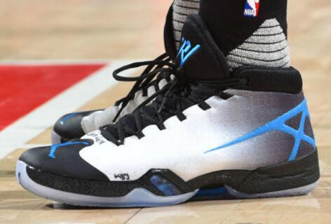 new products a801e 64bb8 ... and 15 rebounds and 10 assists.cheap jordan shoes. He wore the Air  Jordan XXX PE has also become a major highlight of the  game.www.cheapjordansreal.com