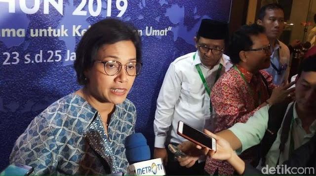Sri Mulyani ke Camat: Imbangi Kerja Presiden, Jangan Nongkrong di Warung Kopi