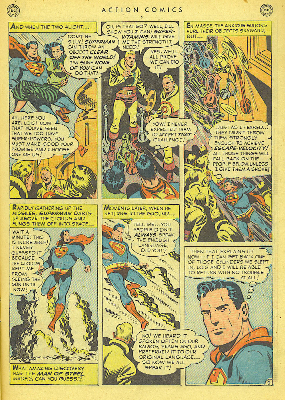 Read online Action Comics (1938) comic -  Issue #152 - 11