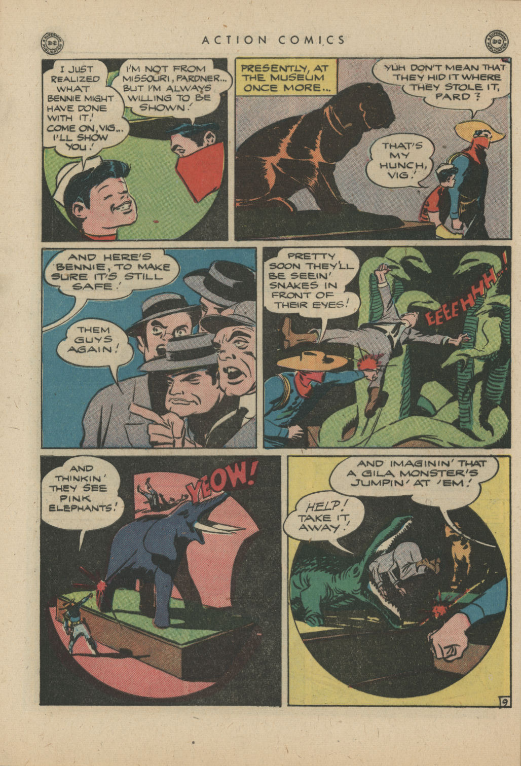 Read online Action Comics (1938) comic -  Issue #83 - 39