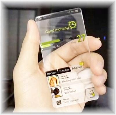 future Transparent Smartphone