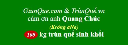 Trùn Quế Krông aNa