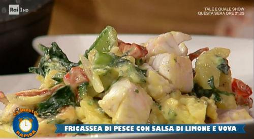 Fricassea Di Pesce Con Salsa Di Limone E Uova Ricetta Roberto