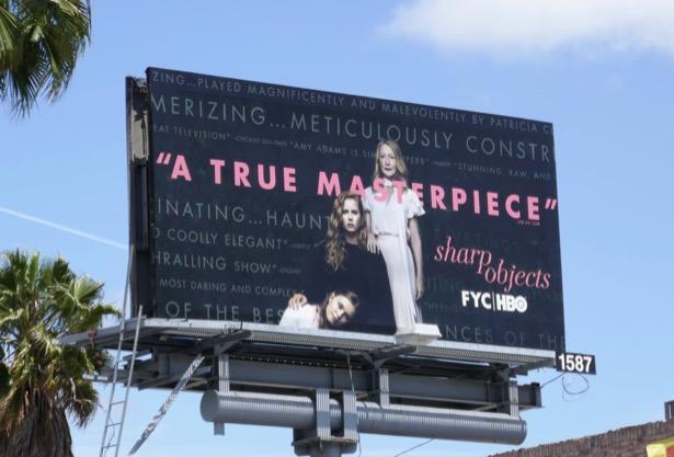 Sharp Objects Emmy FYC billboard