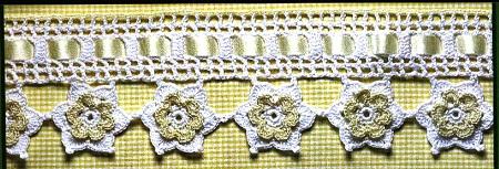 DIY - Decorando Com Crochê  Lindo Bico Com Flores - Com Gráfico