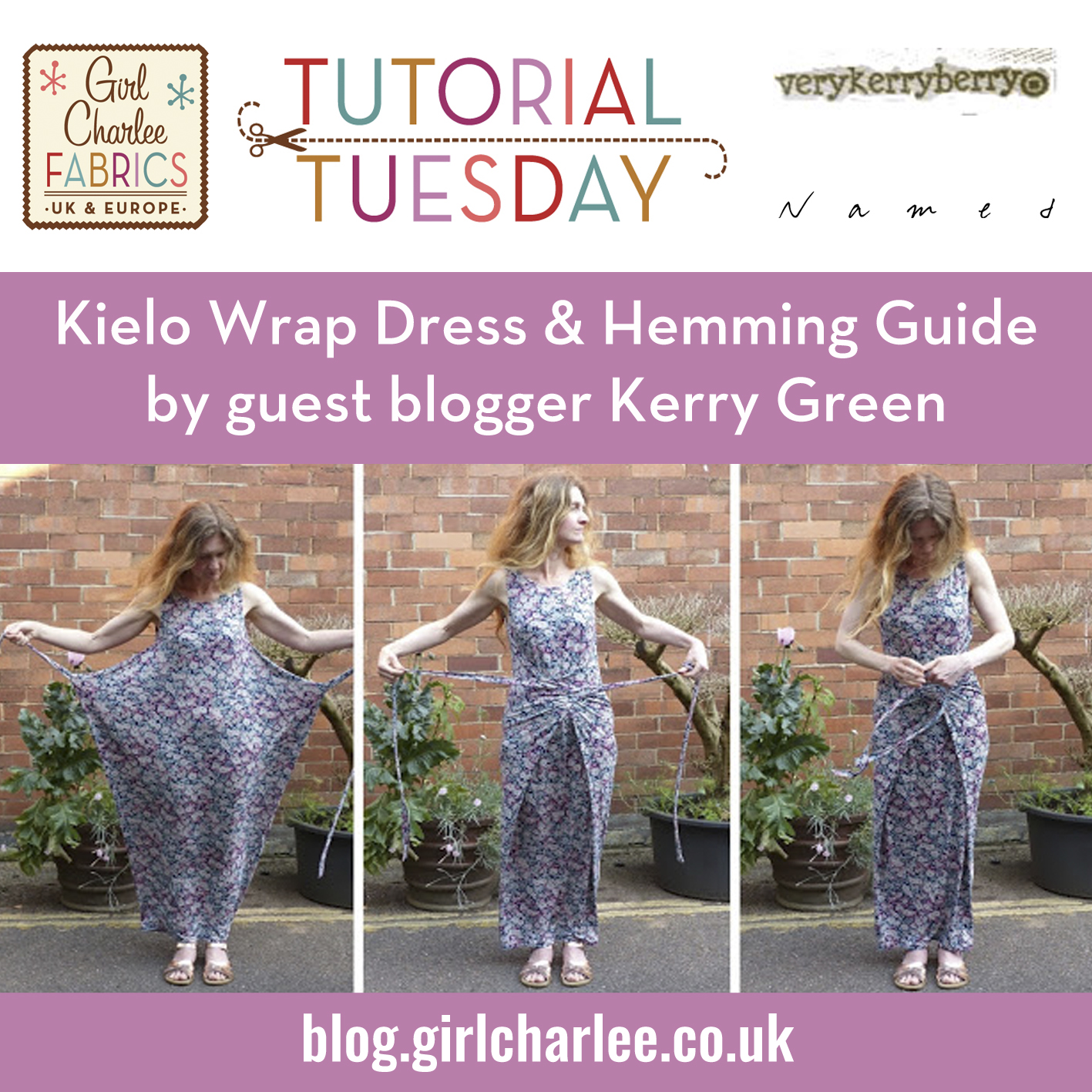 Girl Charlee Fabrics Uk Europe Tutorial Tuesday Guest Blog By