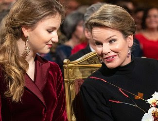 Queen Mathilde, Crown Princess Elisabeth, Prince Gabriel, Princess Eleonore, Prince Emmanuel