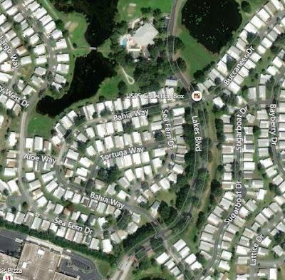 Aerial View of Lakes at Leesburg Homes