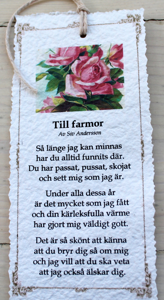 grattis mormor dikt Annas idéer: januari 2013 grattis mormor dikt