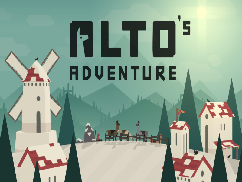 Best Offline Android Game - Alto's Adventure