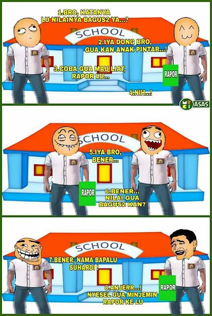 9 Komik Strip Lucu 'Masa SMA' Ini Kocak Banget, Bikin Kangen