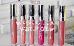 Wardah Exclusive Matte Lip Cream, Penampilan Berkelas Tingkatkan Profesionalitas!