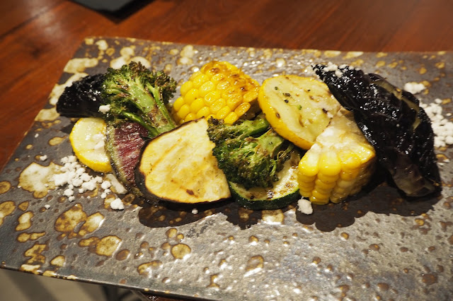 Assorted Grilled Vegetables Plate