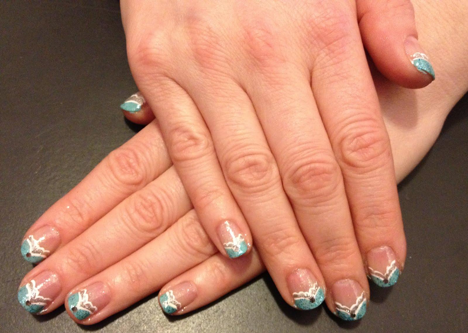 The Beauty of Life: My Recent Mani: Disney Princess Nails ...