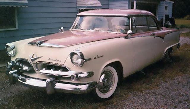 1950s Classic Dodge La Femme