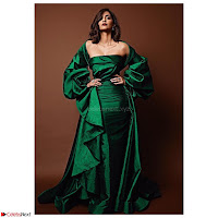 Sonam Kapoor in Deep neck green Gown ~  Exclusive Pics 001.jpg